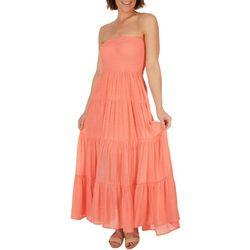 HYFVE Womens Tube Maxi Dress