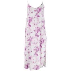 Womens Tie-Dye Midi Dress