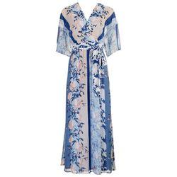 Sandra Darren Womens Flowy Maxi Dress