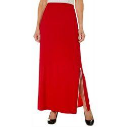 MSK Womens Embellished Split Hem Skirt