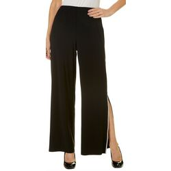 MSK Womens Solid Embellished Pull On Pants