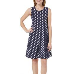 Allison Brittney Womens Dotted Sundress