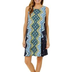 Allison Brittney Womens Boho Zig Zag Sundress