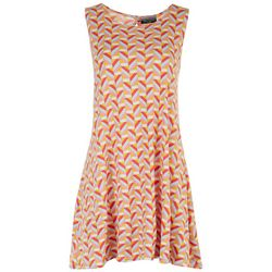 Allison Brittney Petite Geometric Sunny Days Dress
