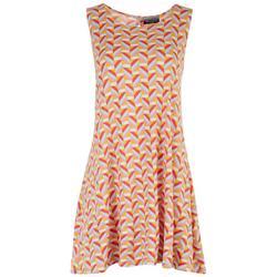 Petite Geometric Sunny Days Dress