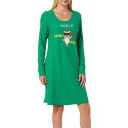 Allison Brittney Womens Holiday Spirit Swing Dress