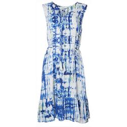 Womens Tie Dye Maxi Dress