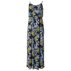 Naif Womens Spaghetti Strap Palms Maxi Dress