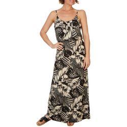 NAIF Late August Womens Tropical Print Dress