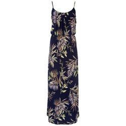 Naif Womens Spaghetti Strap Palms Maxi Dress