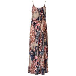 NAIF Late August Womens Floral Print Maxi Dress