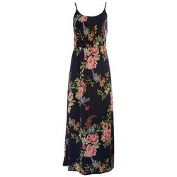 Late August Womens Floral Print Maxi Dress