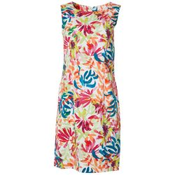 RN Studio Womens Watercolor Dress