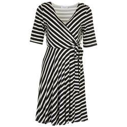 Gilli Womens Striped Flowy Dress
