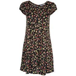 Gilli Womens Floral Short Sleeve Dress