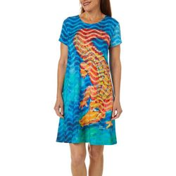 Leoma Lovegrove Womens Florida Flirt T-Shirt Dress