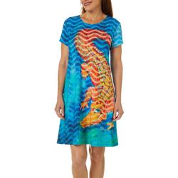 Womens Florida Flirt T-Shirt Dress