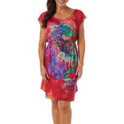 Leoma Lovegrove Womens Seahorse Soiree T-Shirt Dress