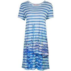 Womens Boat T-Shirt Dress