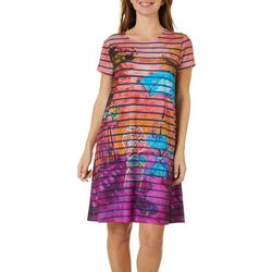 Leoma Lovegrove Womens My Relaxing Place T-Shirt Dress