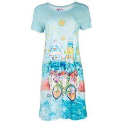 Leoma Lovegrove Womens Florida Girl T-Shirt Dress