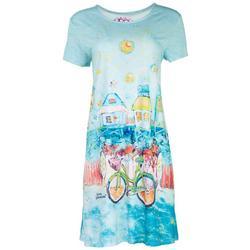 Womens Florida Girl T-Shirt Dress
