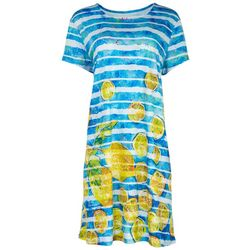 Leoma Lovegrove Womens Lemonade T-Shirt Dress