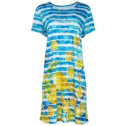 Womens Lemonade T-Shirt Dress