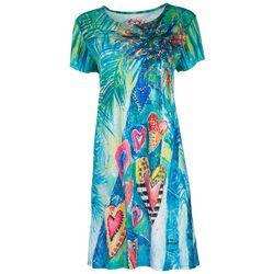 Leoma Lovegrove Womens Nature Love T-Shirt Dress