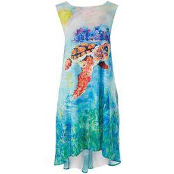 Leoma Lovegrove Womens Leomas Art Work Tank Dress