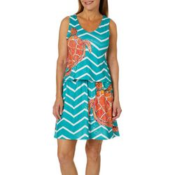 Leoma Lovegrove Womens Lights Off Popover Sundress