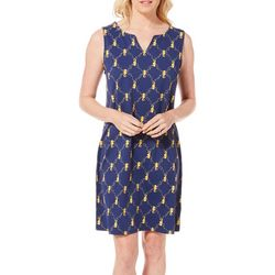 Sunsets and Sweet Tea Womens Anywhere Seahorse Shift Dress