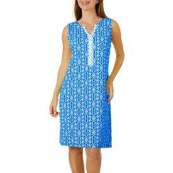 Womens Scenic Shift Dress