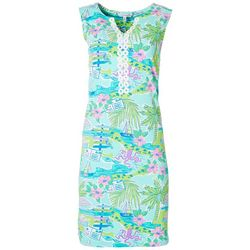 Womens Scenic Shift Dress