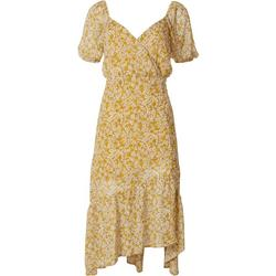 Womens Floral Ruffle Dress