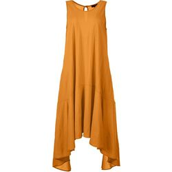 Espresso Womens Sleeveless Solid Midi Dress