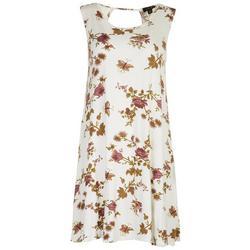 Womens Floral Sun Dress