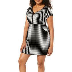 Espresso Womens Striped Pocket Sundress