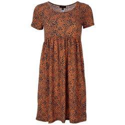 Espresso Womens Animal Print Dress