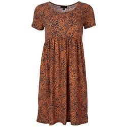Womens Animal Print Dress