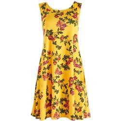 Nina Leonard Womens Sun Dress