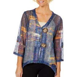 Lennie Womens Coco Crochet Bolero Shrug