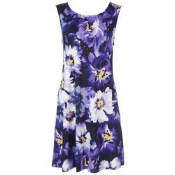 Womens Violet Sun Dress