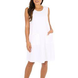 Lennie Womens Pineapple Button Crochet Shrug