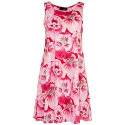 Womens All-over Flowers Sun Dress