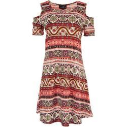 Womens Shoulder Cutout Dress