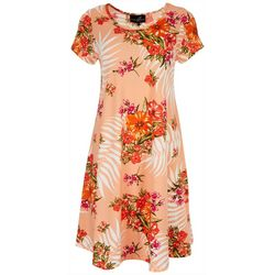 Lexington Avenue Womens Floral Sunny Dress