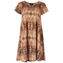 Womens Snake Skin Dress