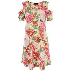 Lexington Avenue Womens Floral Sundress