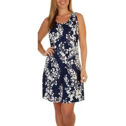 Lexington Avenue Womens Sleeveless Swing Dress